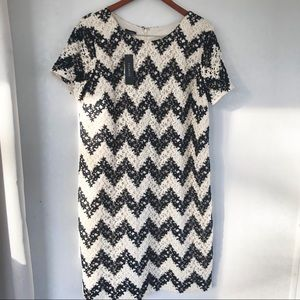 Talbots floral embroidered dress